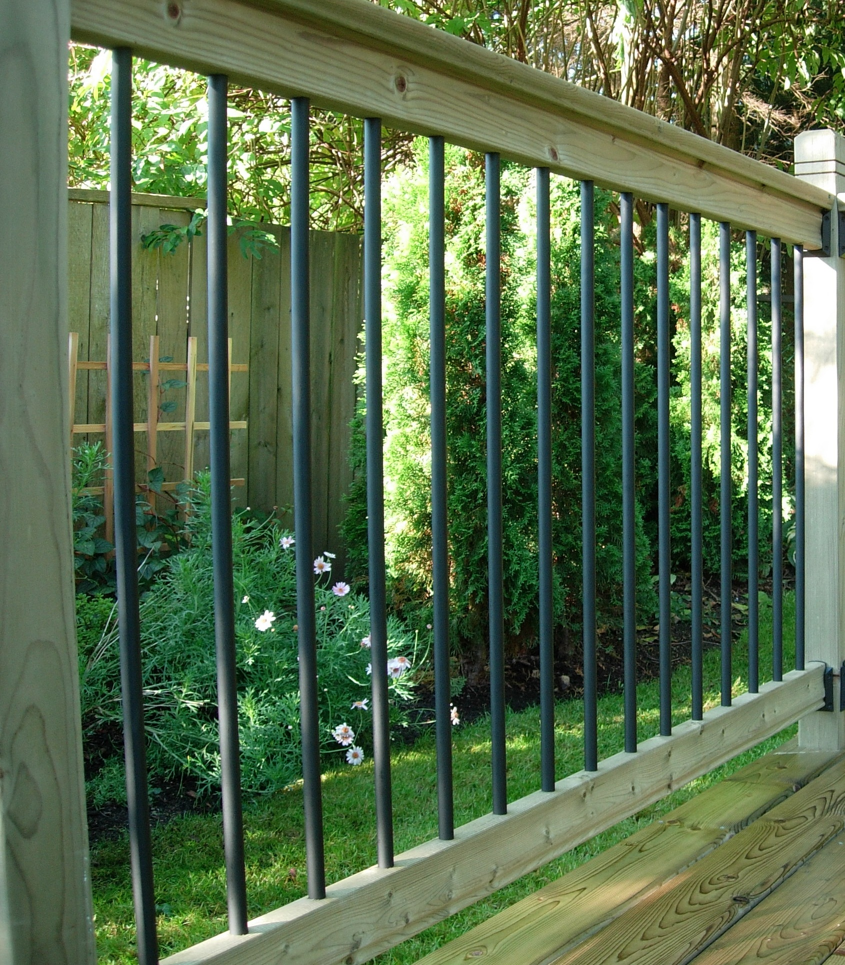 Traditional Deck Railing Kit Vista Railing Systems