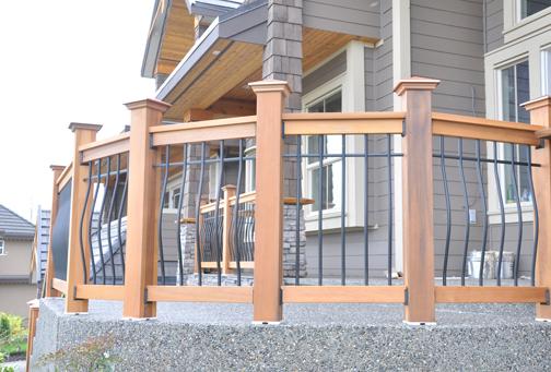 deck railing kits