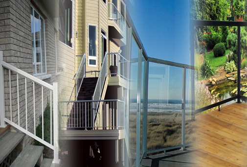 aluminum railings from Vista Railing Systems