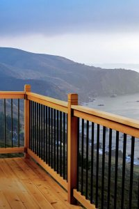 Cedar Somerset Deck Railing Kit