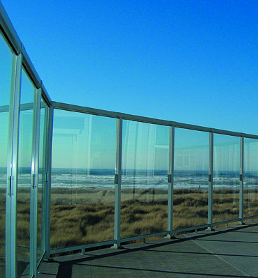 Glass Wind Wall Residential Amp Commercial Glass Wind Wall