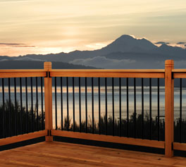 Somerset deck railing kit
