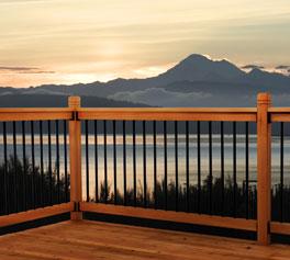 Somerset deck railing kit