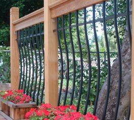 Tuscany deck railing kit